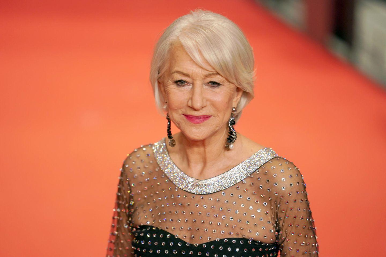 Helen Mirren ungeschminkt für den guten Zweck