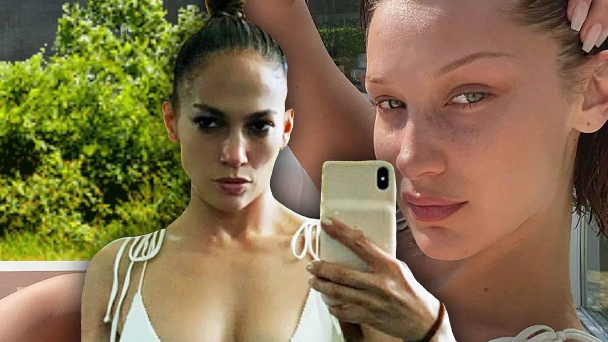 Jennifer Lopez und Bella Hadid: Sie tragen den gleichen Bikini