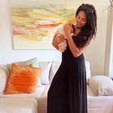 Am 11. März erblickt ihre TochterLia Faé Agnes das Licht der Welt. Und Sarah Joelle? Die hat seit der Geburt bereits zwölf von 20-Schwangerschaftskilos abgenommen, wie sie Promiflash im Interview verriet.