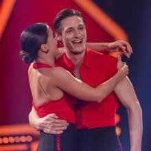Moritz Hans und Tanzpartnerin Renata Lusin.