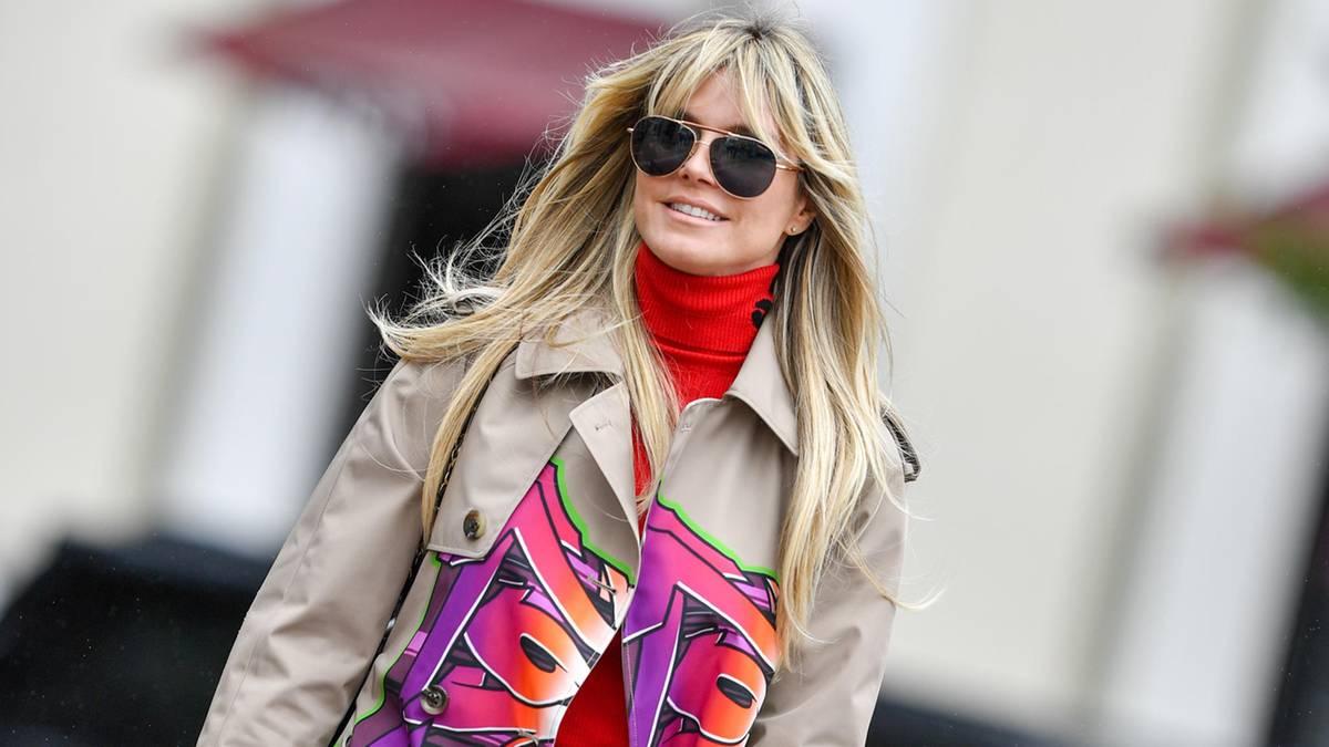 Heidi Klum: Tochter Leni zieht es wie Mama ins Mode-Business