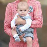 Prinz Oscar, Estelles kleiner Bruder, bereichterte die schwedische Kronprinzessinnenfamilie am 2. März 2016.