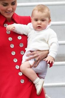 """Die Welt überschlug sich vor Freude, als """"Royal Baby"""" Prinz George am 22. Juli 2013 in London das Licht der Welt erblickte."""