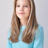Aus dem niedlichen Energiebündel ist mittlerweile eine richtige junge Dame geworden, hier im Februar 2020 auf ihrem offiziellen Porträt des Spanischen Königshauses.