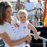 Als zweite Tochter von König Felipe und Königin Letizia wurde die süße Prinzessin Sofia am 29. April 2007 geboren.