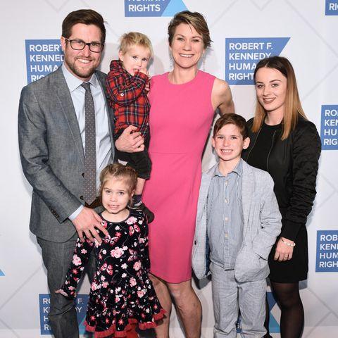 David McKean, Maeve Kennedy Townsend McKean und ihre Kinder