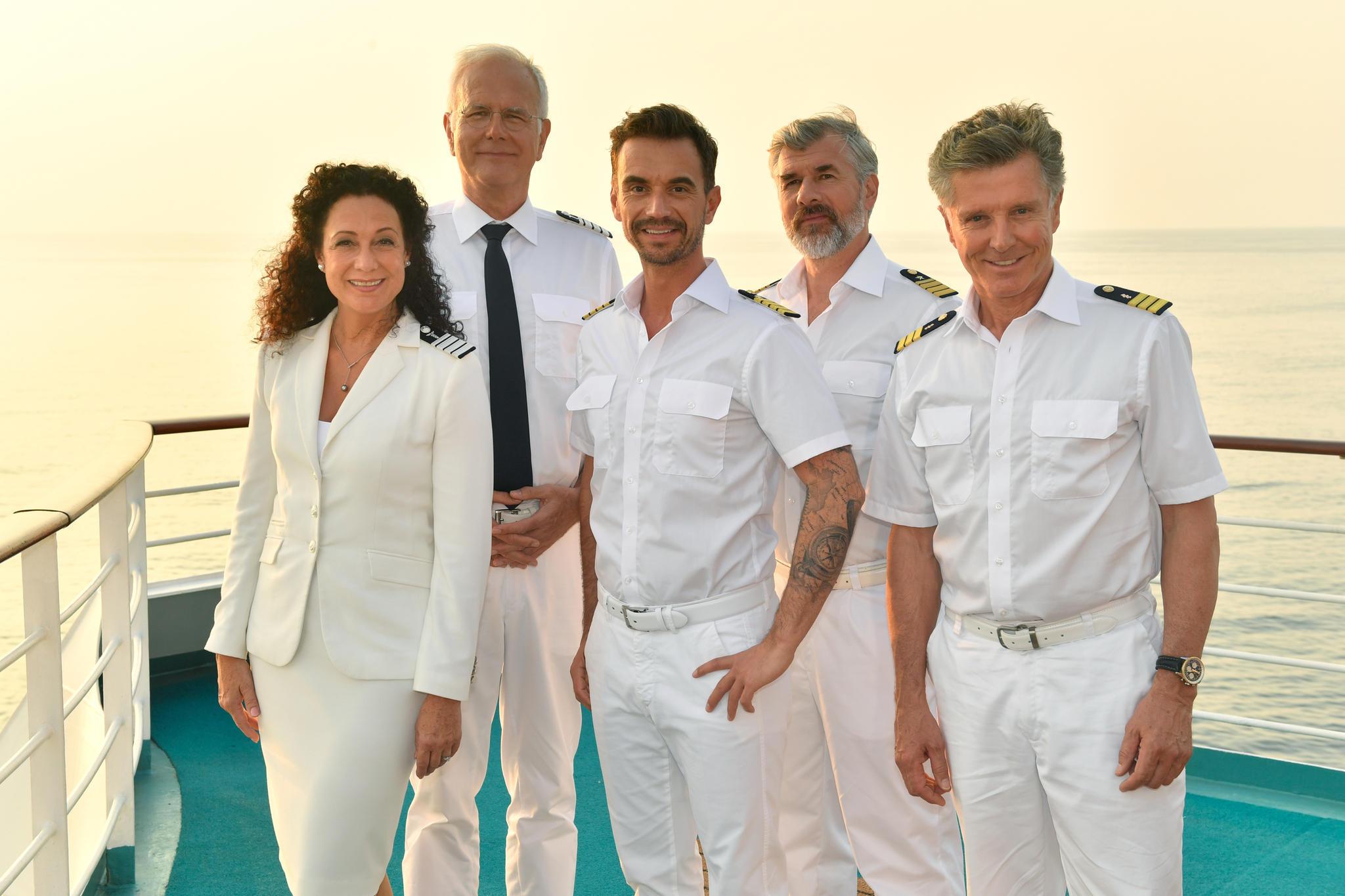 Barbara Wussow, Harald Schmidt,Florian Silbereisen,Daniel Morgenroth und Nick Wilder