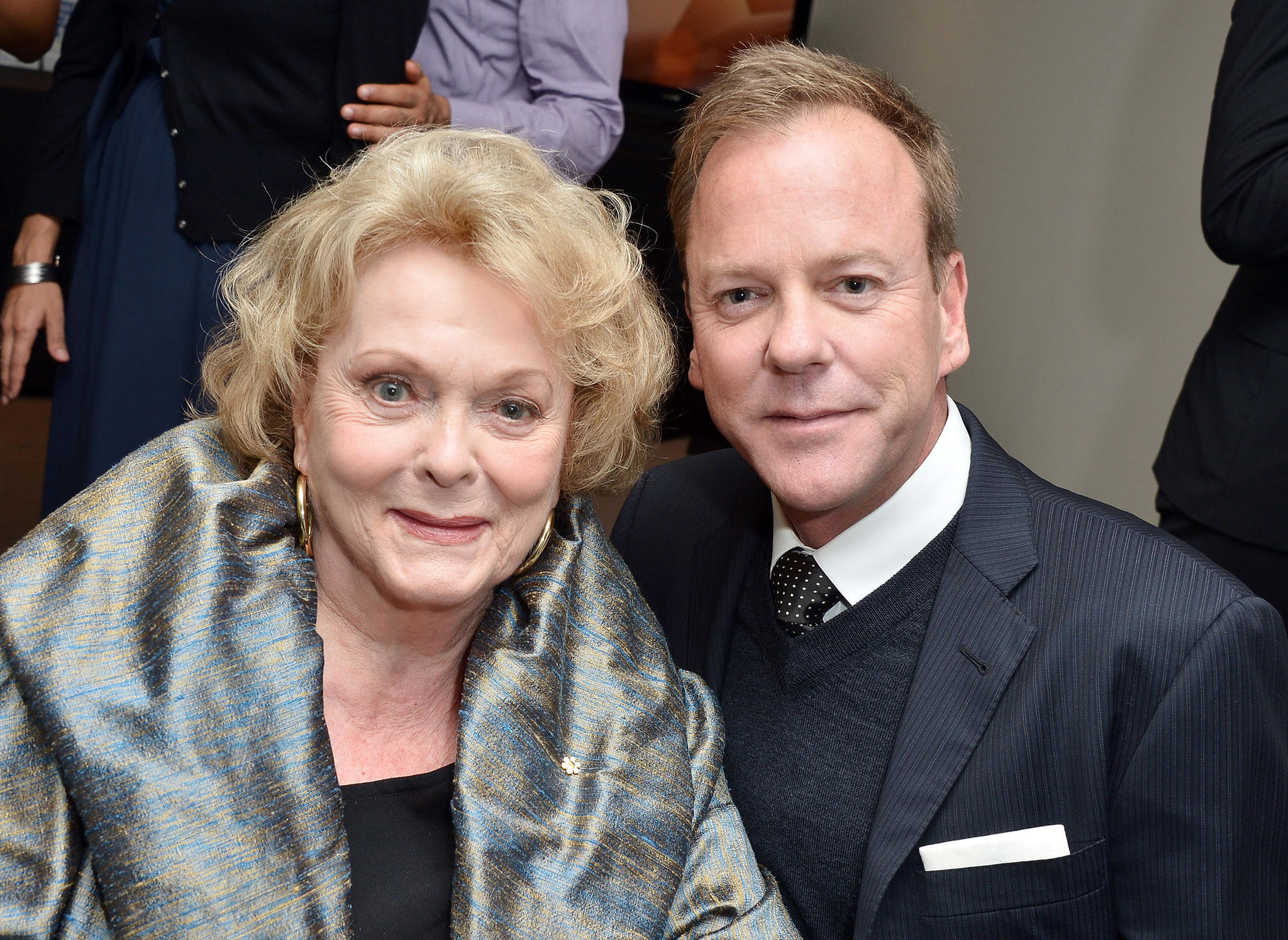 Kiefer Sutherland und seine Mutter Shirley Douglas