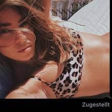 """Ohne Kommentar aber dafür als Screenshot inklusive """"Zugestellt""""-Benachrichtigung postete Vanessa Mai diesen sexy Schnappschuss im Leo-Bikini. Bleibt nur die Frage: An wen wurde dieses Selfie wohl geschickt?"""