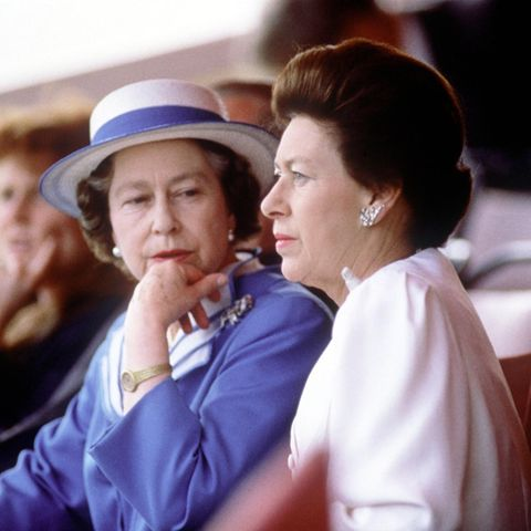 Queen Elizabeth II und Prinzessin Margaret