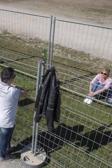 Verliebte dürfen sich an der Deutsch-Schweizer-Grenze nicht mehr berühren