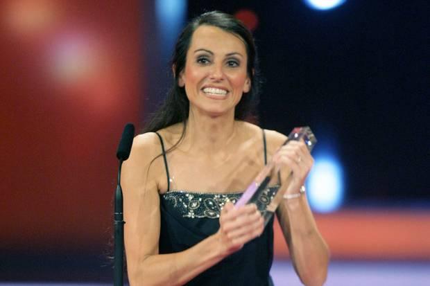 """Katia Saalfrank erhält im Jahr 2007 den Deutschen Fernsehpreis in der Kategorie """"Bester TV-Coach""""."""