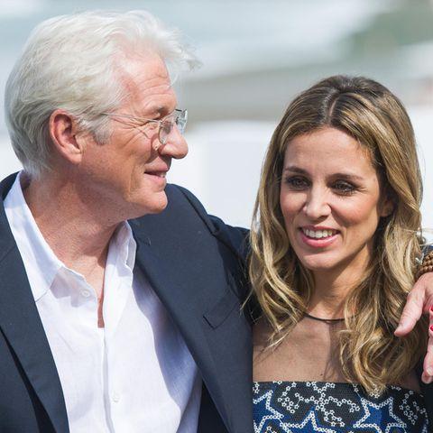Richard Gere und Frau Alejandra
