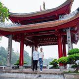 Prinz Daniel und Prinzessin Victoria genossen ihr Sightseeing am Hoan-Kiem-See in Hanoiwährend ihres Staatsbesuchs in Vietnam im Mai 2019.