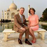 Und auch für das belgische Königspaar Philippe und Mathilde stand das Taj Mahal im November 2017 auf dem Programm.
