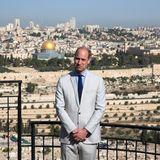 Vom Ölberg aus hatte Prinz William bei seinem Besuch in Israel und Palästina im Juni 2018 diesen beeindruckenden Blick auf Jerusalem.