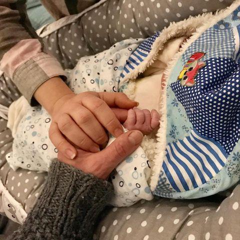 Dirk Moritz wird wieder Vater