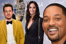Charlie Puth, Courteney Cox und Will Smith