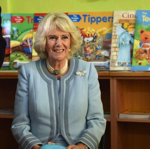 Herzogin Camilla ist eine begeisterte Leserin und stets bemüht, den Kleinsten die Freude an Büchern weiterzugeben.