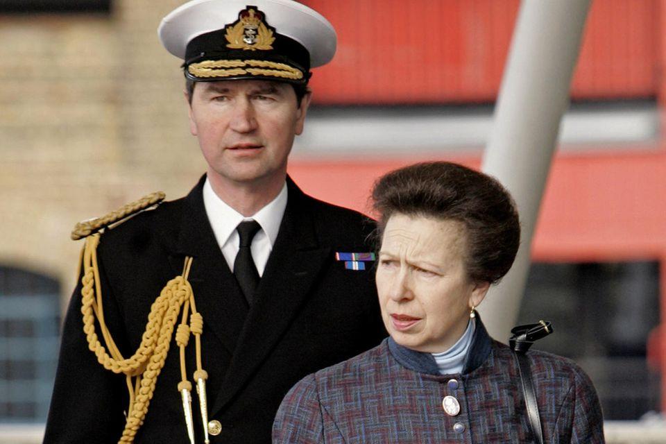 Prinzessin Anne und Timothy Laurence