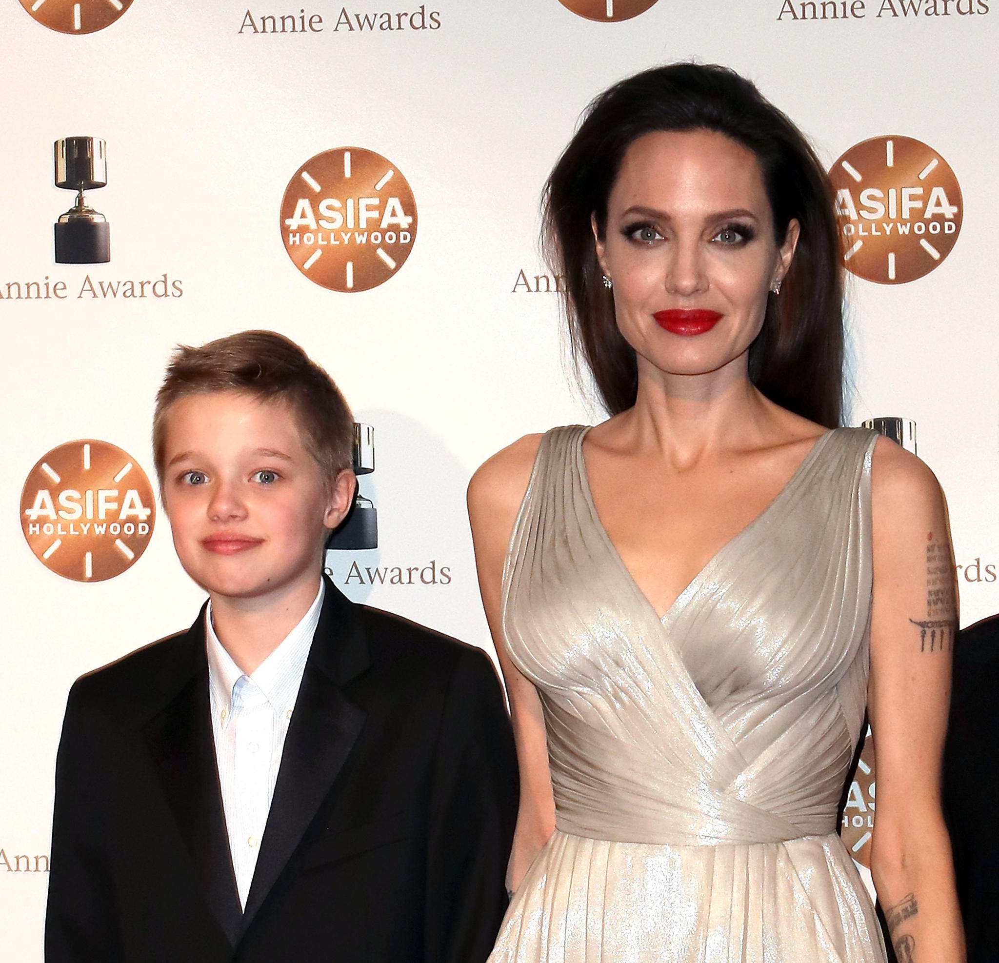 Shiloh Jolie Pitt und Angelina Jolie