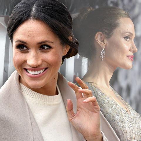 Herzogin Meghan + Angelina Jolie