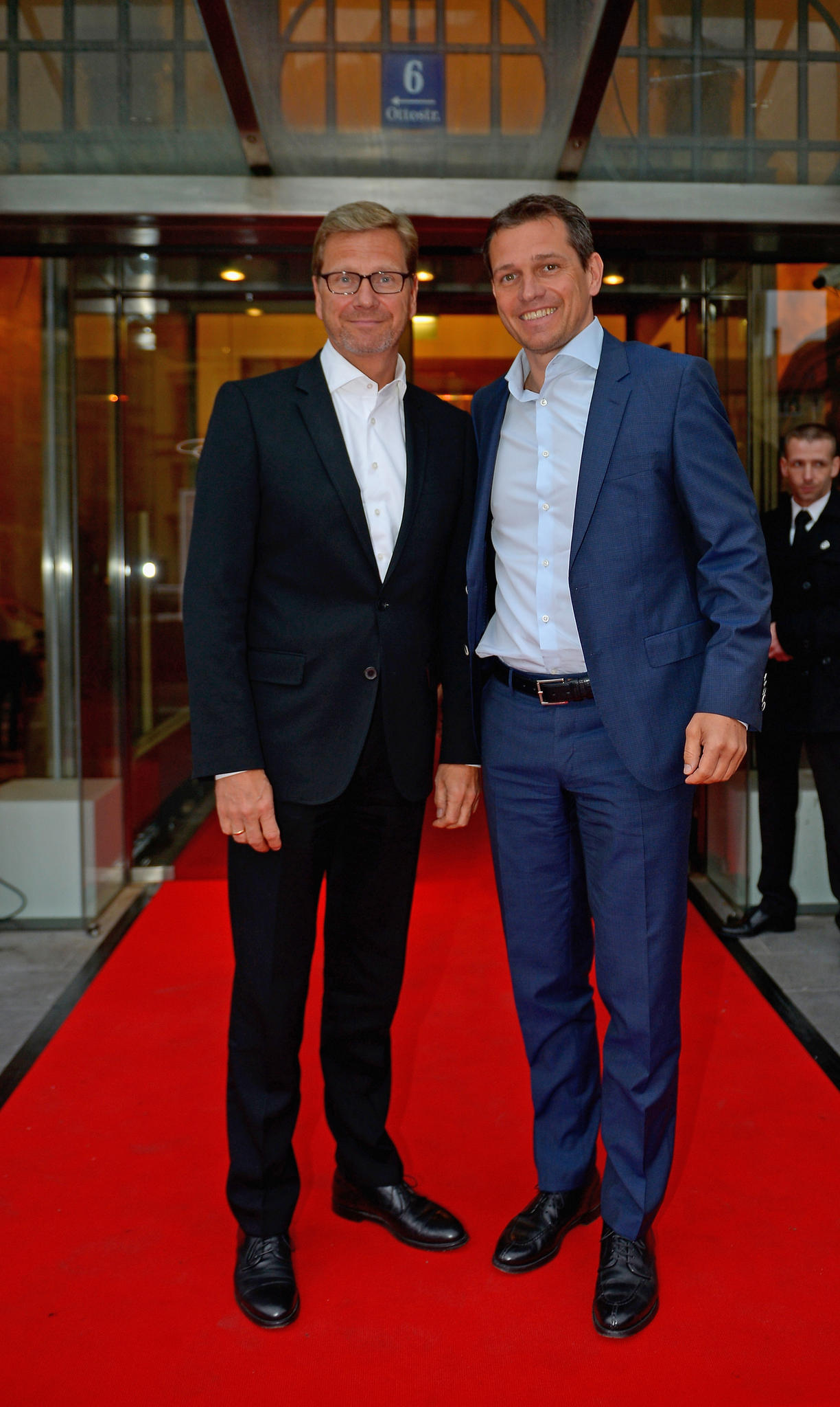 Guido Westerwelle und Michael Mronz im Jahr 2014
