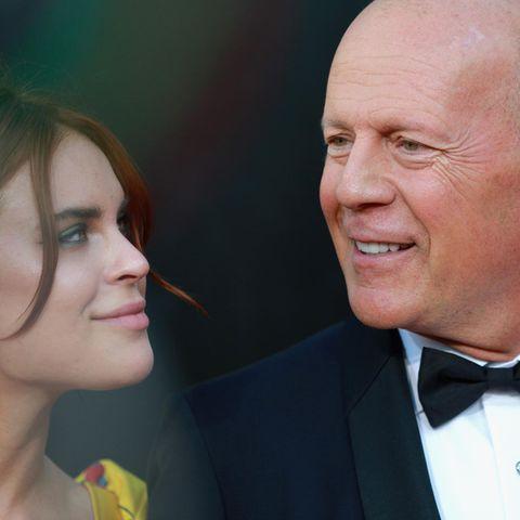 Tallulah + Bruce Willis