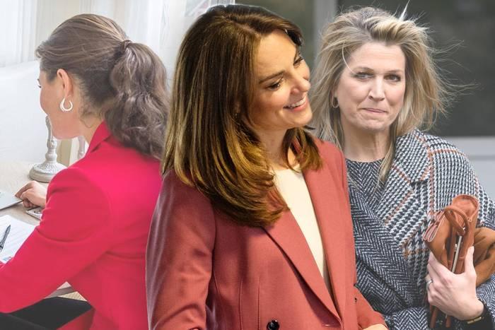 Prinzessin Victoria, Herzogin Kate + Königin Máxima