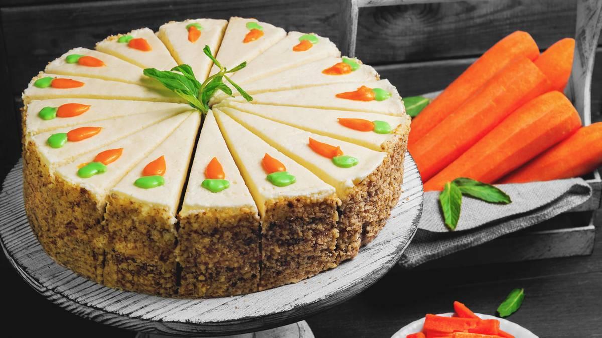 Karottenkuchen ohne Mehl: Einfach und schnell für Ostern zubereitet