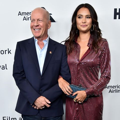 Bruce Willis und Emma Heming