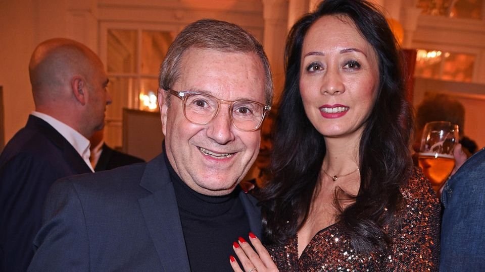 Jan Hofer mit Ehefrau Phong Lan Hofer