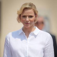 Fürstin Charèlene, die Ehefrau vonFürst Albert von Monaco