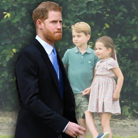 Prinz Harry ist der Onkel von Prinz George und Prinzessin Charlotte.