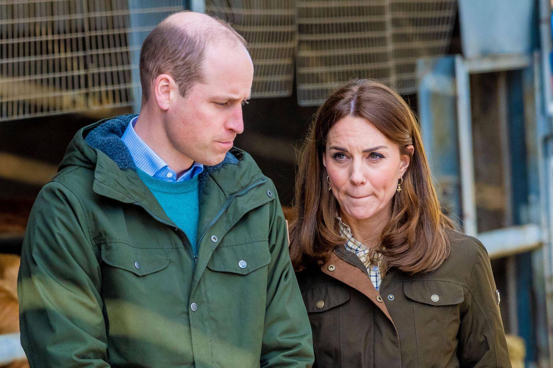 Prinz William und Herzogin Catherine sorgen sich.