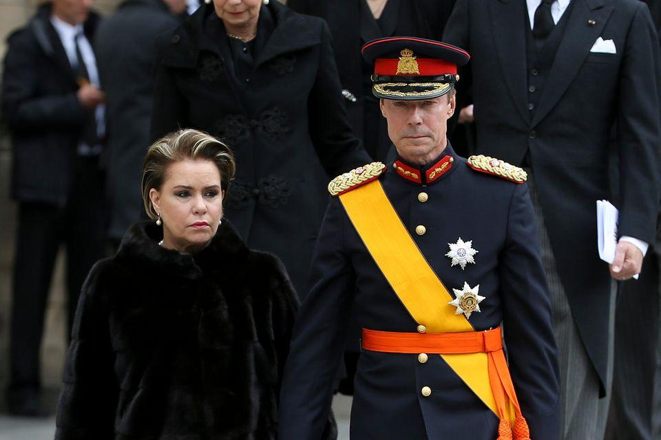 Großherzogin Maria Teresa und Großherzog Henri von Luxemburg habenVictor Batista Falla an Covid-19 verloren.