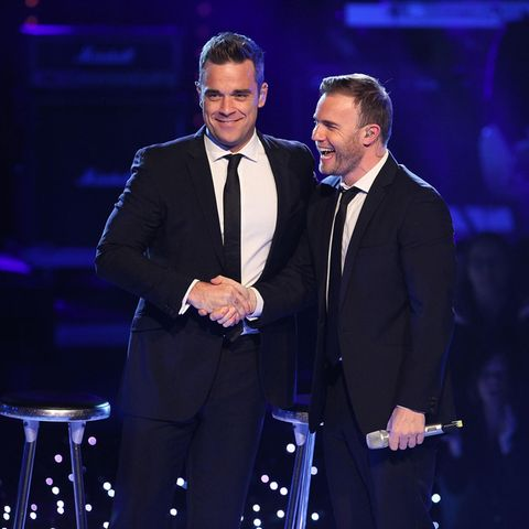 Robbie Williams und Gary Barlow