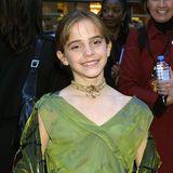 """Im Jahr 2001 startet Emma Watson in der Rolle der Hermine ihre """"Harry Potter""""-Karriere. Zur """"Stein der Weisen""""-Premiere in London ist sie gerade einmal elf Jahre alt."""