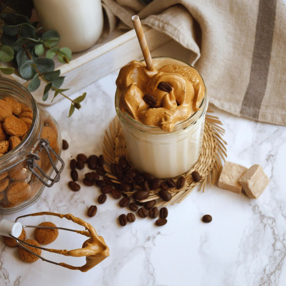 Dalgona-Kaffee