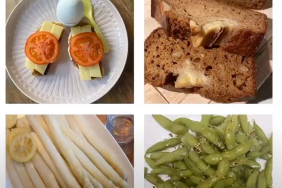 Janina Uhses Food Journal in Bildern