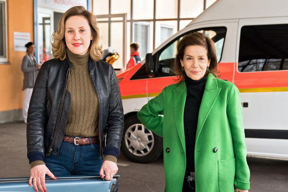 Marlene Morreis und Hannelore Elsner