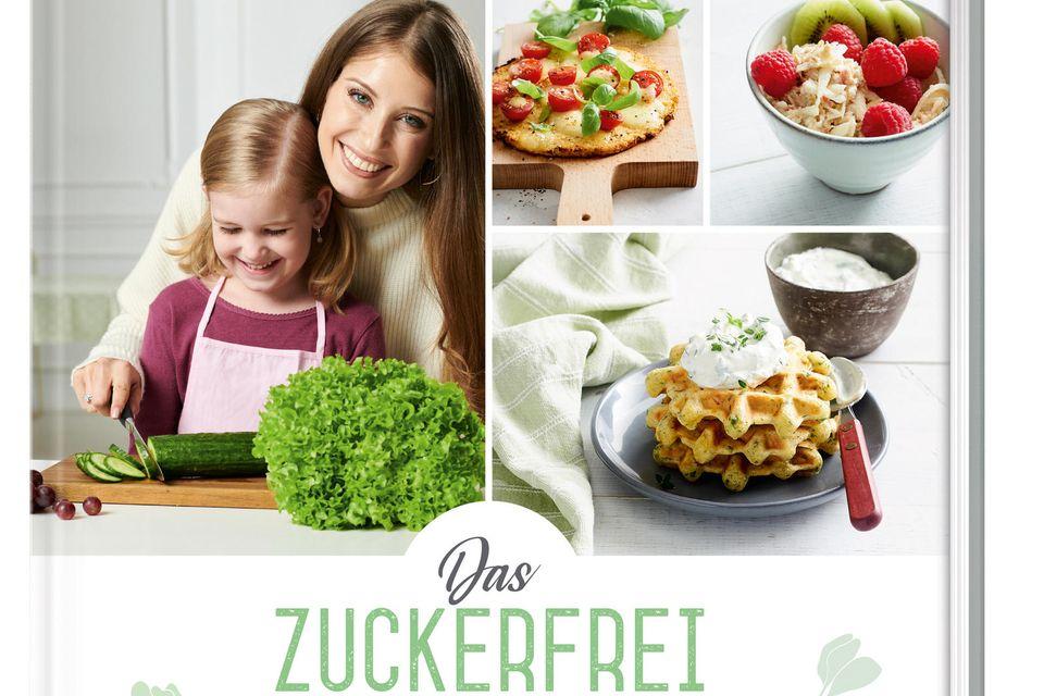 """Cathy Hummels erstes Kochbuch (""""Das Zuckerfrei-Kochbuch für Kinder"""", ZS Verlag, 176 Seiten, ca. 22,99 Euro)"""