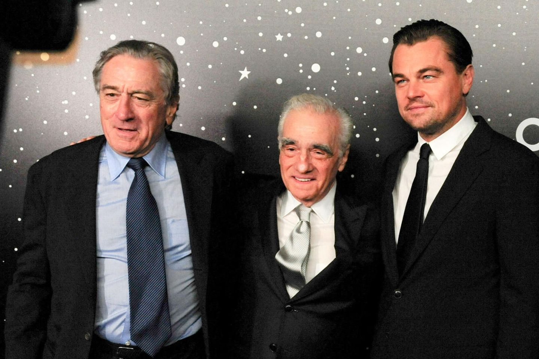 Robert De Niro, Martin Scorsese und Leonardo DiCaprio
