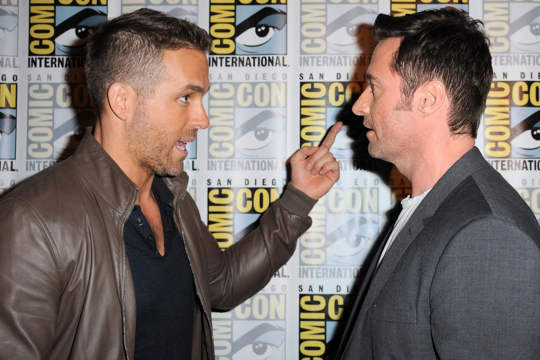 Ryan Reynolds und Hugh Jackman