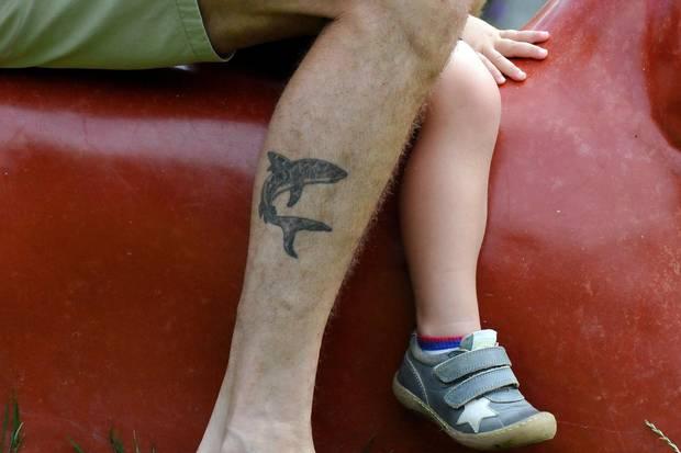 Dass Tattoo von Prinz Frederik.