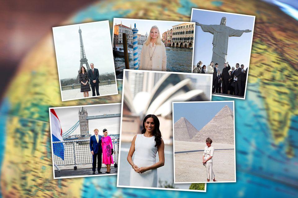 Königliches Sightseeing: Reisen Sie mit den Royals um die Welt