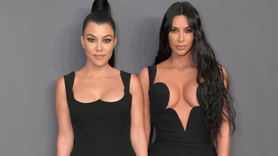 Kim Kardashian, Kourtney Kardashian: Throwback-Fotos begeistern Instagram