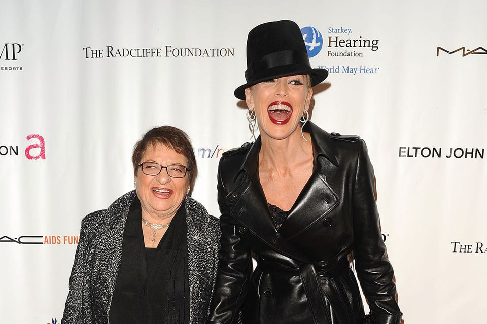 Sharon Stone und Eileen Mitzman