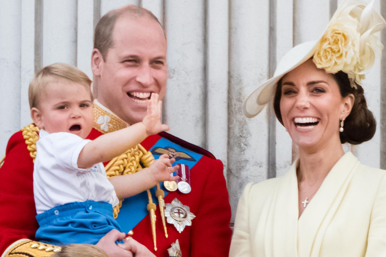 Prinz Louis feiert mit seinen Eltern und Geschwistern Geburtstag