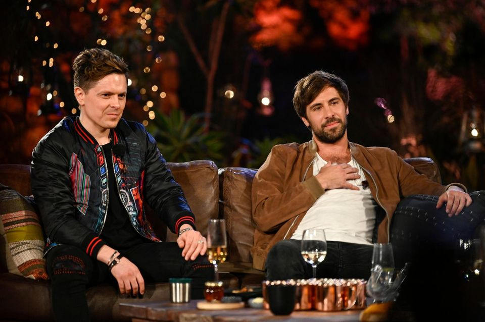 Michael Patrick Kelly und Max Giesinger
